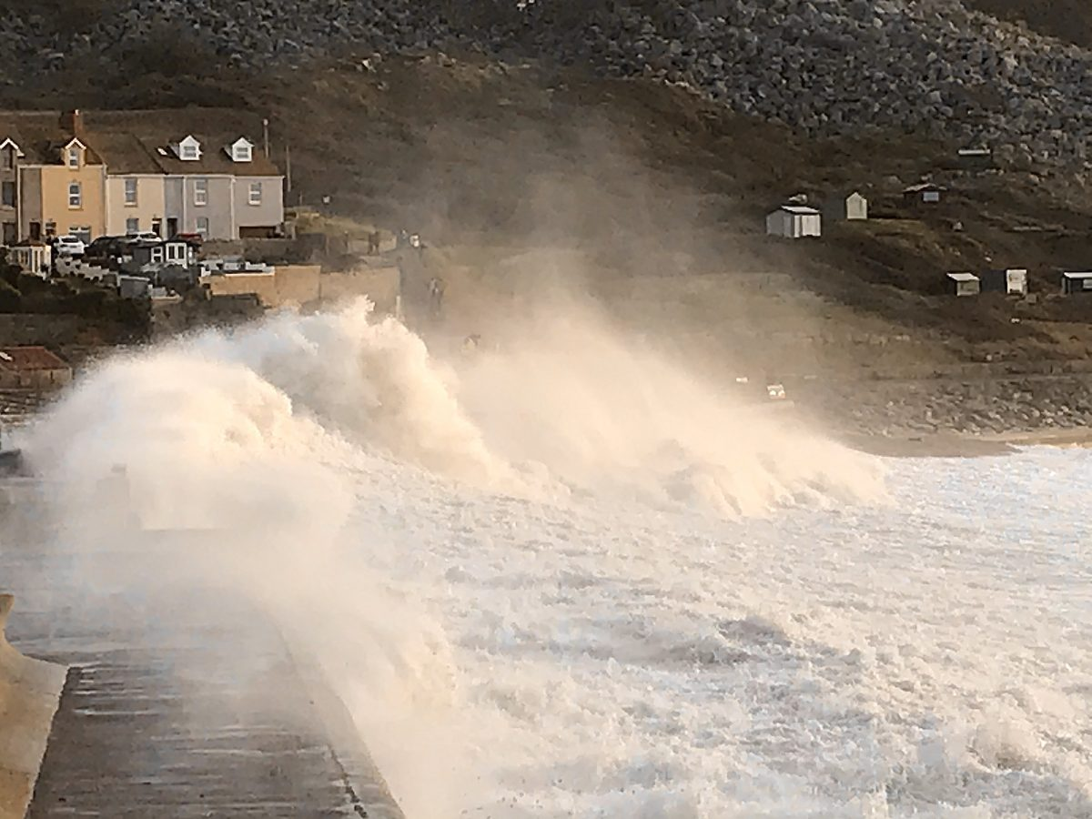 Community information about Coastal Defences at Chiswell and West Bay